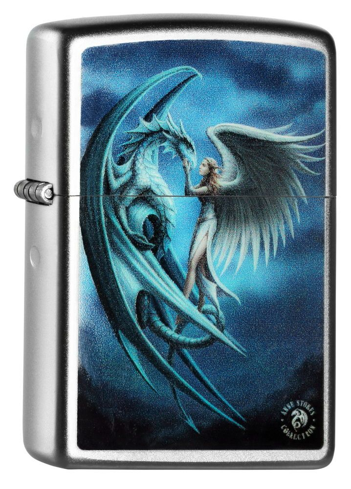 ZIPPO Feuerzeug ANNE STOKES Collection MYSTIC DRAGON Spring 2015 Drachen NEU OVP