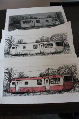 chine colle printmaking - Google Search