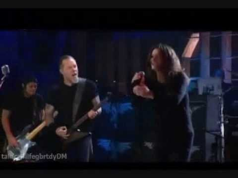 """Metallica doing """"Ironman"""" and """"Paranoid"""" with Ozzy Osbourne on lead vocals."""