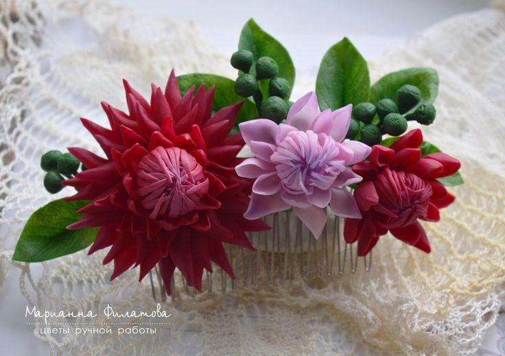 ceramic floristry. cold porcelain.