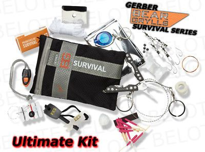 Other Emergency Gear 181415: Gerber Bear Grylls Survival 16Pc Ultimate Kit 31-000701 -> BUY IT NOW ONLY: $37.93 on eBay!