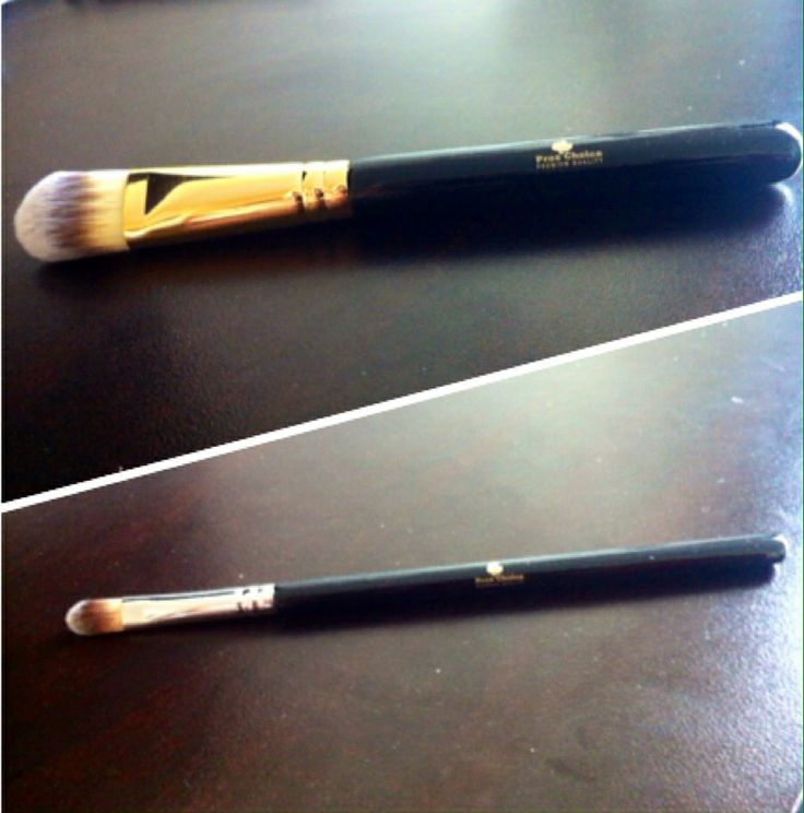 synthetic foundation and concealer brush foundation brush $15  concealer $5  contact  proschoicecanada@gmail.com