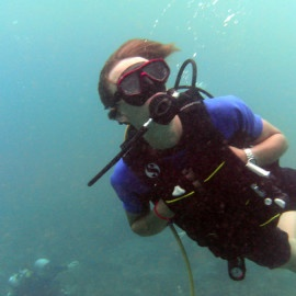 Diving Holidays on Bangka Island, Indonesia - Your expert diving instructors and guides are always close by