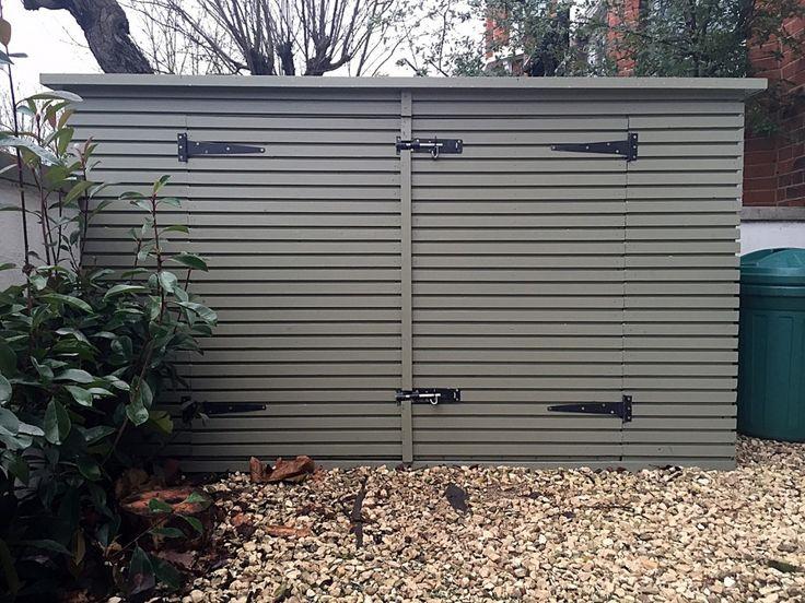 bespoke bin bike store unit shed system design build tooting balham clapham london