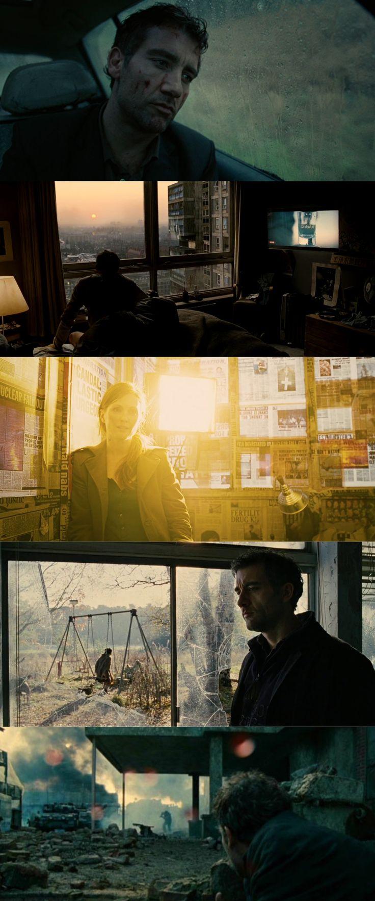 Children of Men / Color Scheme (2006), d. Alfonso Cuaròn, d.p. Emmanuel Lubezki