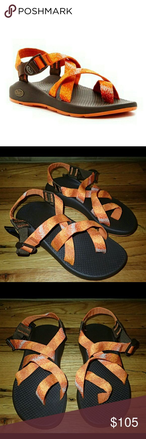 Chaco Z2 Yampa Orange Sandals 6 - New 🆕 Brand new, never worn, no damage. Comes with box.  👍 Smoke-free, pet-free household.   🚫 No trades/swaps!  🚫 No holds!  🚫 No low-balling!  🚫 No PayPal!   ✔ Reasonable offers welcomed! Please use the offer button so I know you are serious about the item! I will not respond to price negotiations via comments.  ✔ I love bundling! Not only will you get ONE shipping fee, I will also discount your combined total! Please ask me in the comments!  😜…