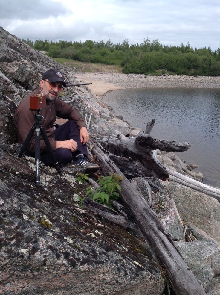 A picture of me in action at the Baie James, Northern Quebec.  July 22, 2014. Photo by Suzanne Labrecque. One click on photo for see the result.