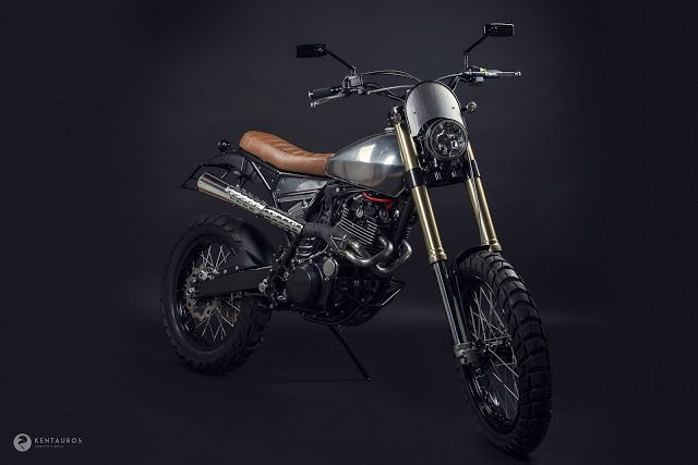 yamaha xt600 scrambler penelope by kentauros motorcycles scrambler motos caferacerpasion. Black Bedroom Furniture Sets. Home Design Ideas