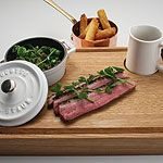 Slow-cooked Duck with Duck Fat Chips and Gravy, by Tom Kerridge