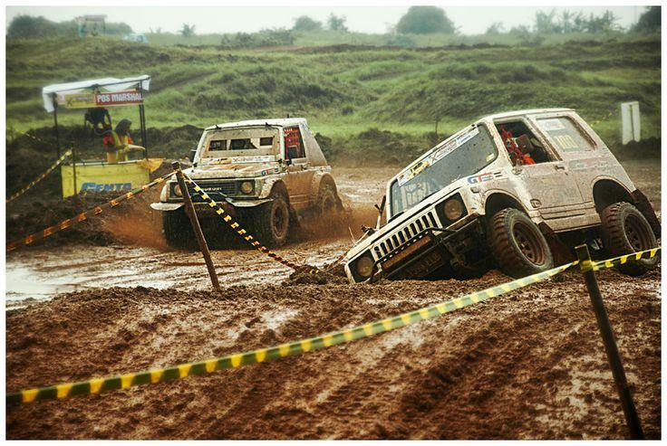 Kejuaraan GT Radial Savero Komodo Indonesia X-Offroad Racing 2014, di sirkuit Pagedangan, BSD City, Tangerang #offroad