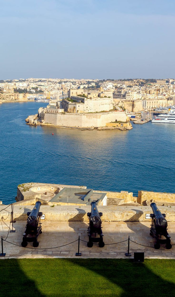 Valletta is the capital city of Malta. Looking over the Grand Harbour this historical city has a population of about 7,000. Valletta is the second southernmost capital of the EU member states after Nicosia, Cyprus. Photo: amongraf.ro.com
