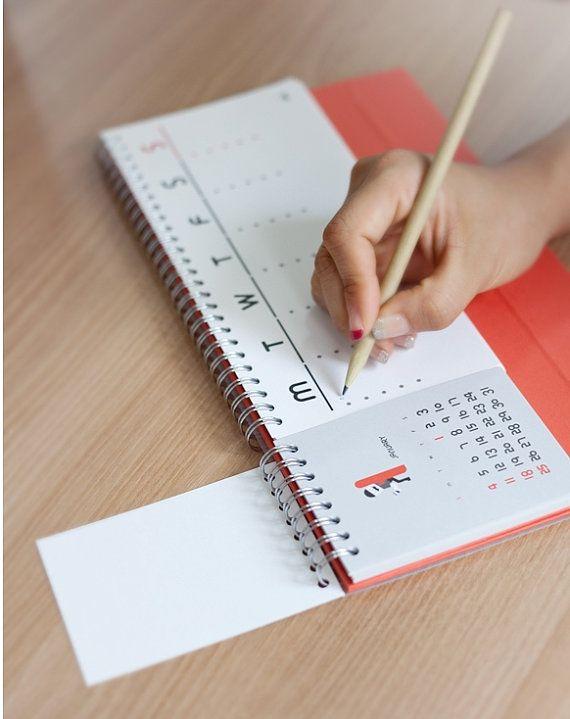 2015 Calendar Desk Planner / 101135311 por DubuDumo en Etsy