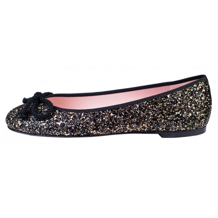 Rosario sz 41 black/gold glitter, or pale pink quilting with gold tip, or black with rose