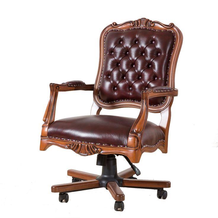 Ahşap işlemeli ofis yönetici makam koltuğu modeli için lütfen 0312 351 25 25 yada http://yilmazburo.net  #makamkoltugu #yoneticikoltugu #ofiskoltuk #kapitonekoltuk