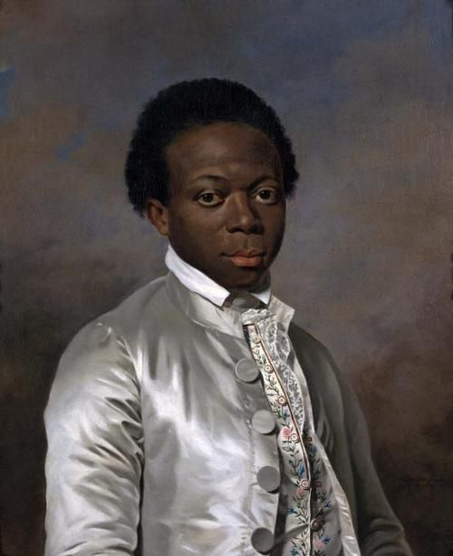 There were many black people in France around the time of the French Revolution—in fact, a census was taken a little earlier, in 1777-1778, counting the black population. The number reported in 1782 was 4-5 thousand, which admittedly was a small fraction of France's population of 26 million. Whatever the case, there were many black people all throughout France. From The Negro in France: