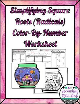 13 best Algebra! images on Pinterest | Square roots, How to ...