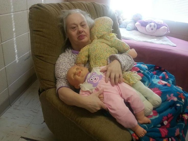 Dollie and her dollies: Dollie Grimson is 74 and possibly the oldest person in the world with Down Syndrome. Life expectancy of Ds is 55.