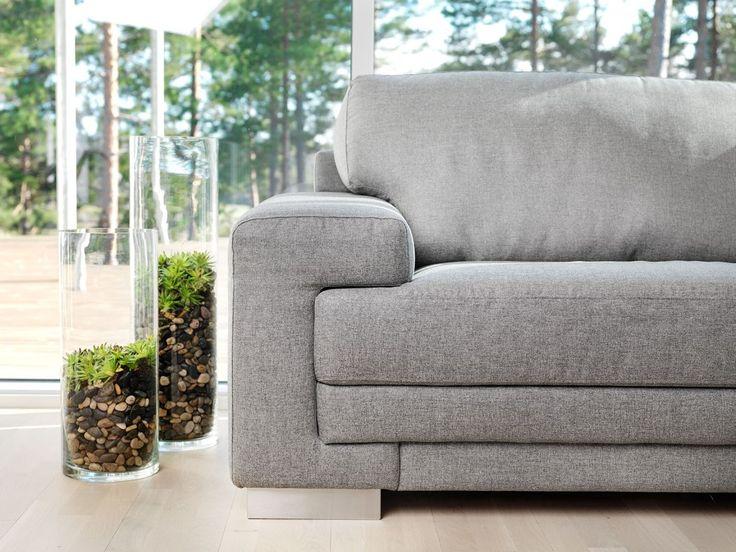 Persoonallisia yksityiskohtia  Malli: Oslo Vaihtoehdot: 2- ja 3-istuttava sohva, modulisohva Jälleenmyyjä: Isku-myymälät  #pohjanmaan #pohjanmaankaluste #käsintehty