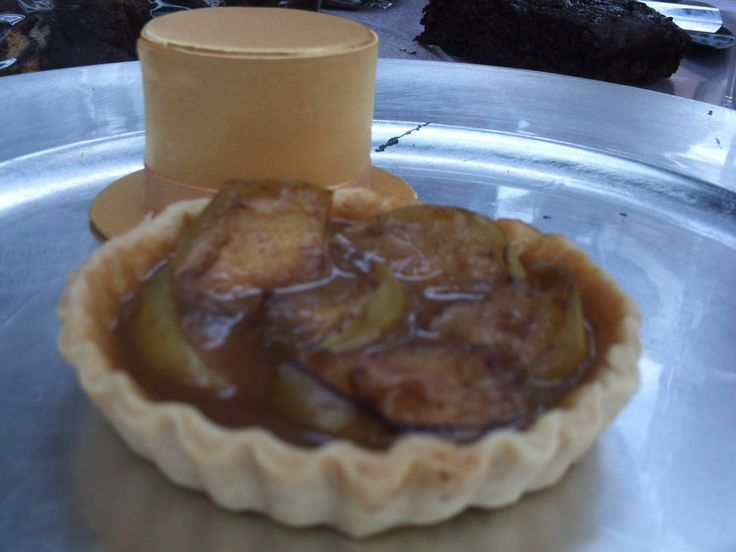 Apple Caramel Tart by Toppers Tiffin.