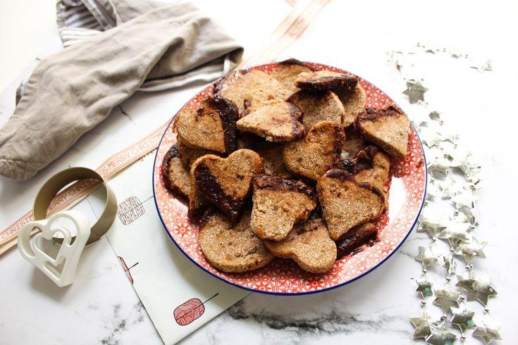 vegane lebkuchen kekse gesund glutenfrei backen weihnachten plätzchen