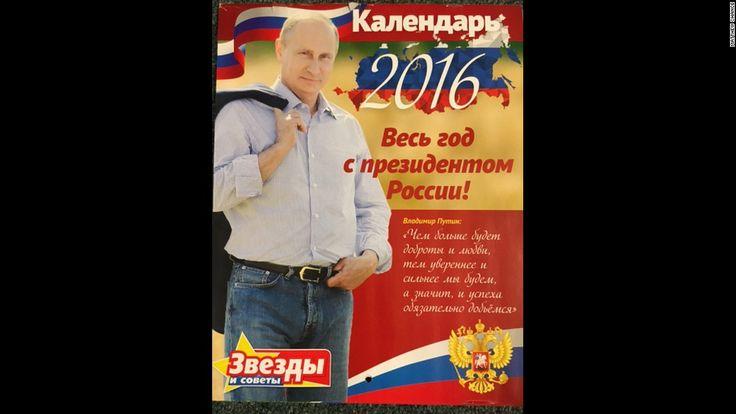 Vladimir Putin's 2016 calendar: Look inside - CNN.com