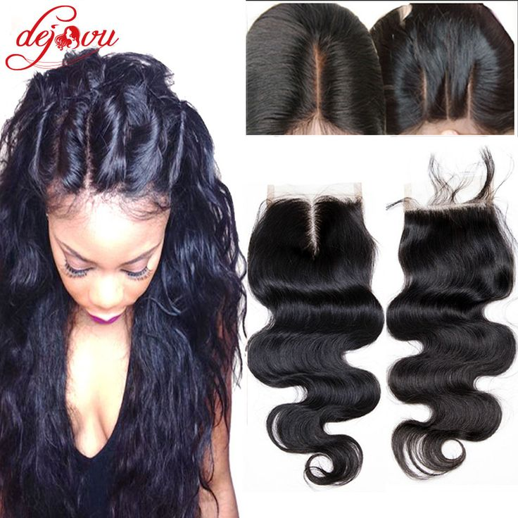 """Queens Hair Products Brazilian Body Wave Closure 4""""x 4"""" 35g 7A Unprocessed Virgin Human Hair Full Lace Closure Brazilian Closure"""