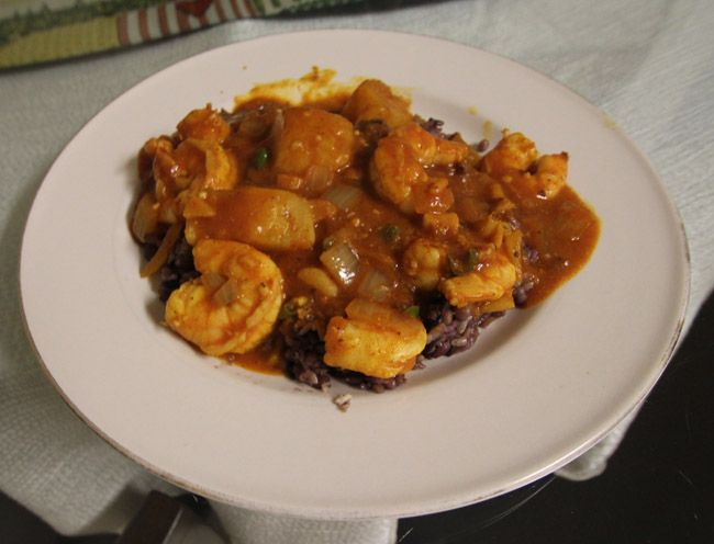 Indian Shrimp Vindaloo Curry Recipe