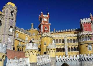 familytours familierondreizen - Sprookjeskasteel in Sintra