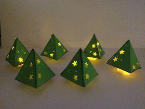 Met Kerst vind ik het altijd gezellig als de kinderen een lichtje op tafel hebben. Vroeger deden we dit met echte waxinelichtjes, maar tegenwoordig doen we het