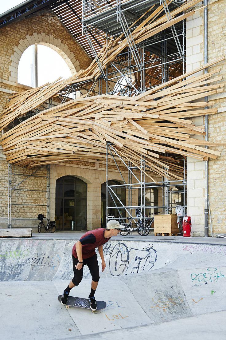 "Gallery of 1024's ""Vortex"" Installation Unites Environmental Analysis and Art…"