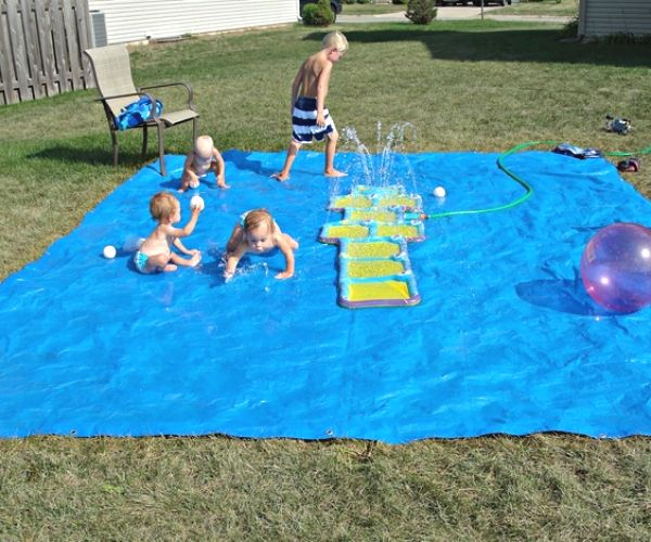 Play life-sized Angry Birds or create your own splash pad. Whatever you choose, these 8 kid-friendly backyard ideas are tons of fun!
