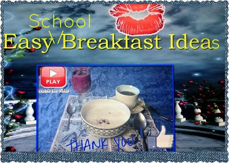 Утренний легкий школьный завтрак|Easy Breakfast Ideas for School| HelenLin1