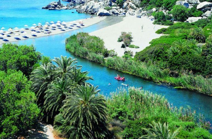 Η παράξενη παραλία της Ελλάδας που θυμίζει.. Αφρικανική όαση