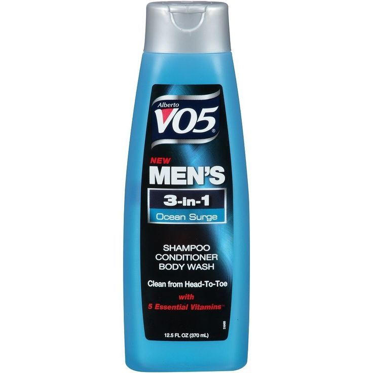 Alberto Vo5 Mens 3-in-1 Shampoo, Conditioner and Body Wash, Ocean Surge 12.5 Fl Oz by Alberto Culver -- More info could be found at the image url.