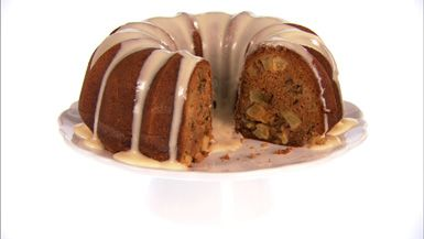 Giada's Apple Spice Walnut Bundt Cake Make for fall!