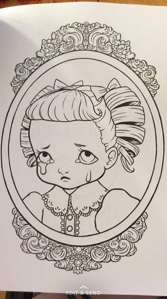 Melanie Martinez Coloring Page Awesome Crybaby Coloring Book 🎈🖍 Melanie  Martinez Coloring Book, Cry Baby Coloring Book, Bee Coloring Pages
