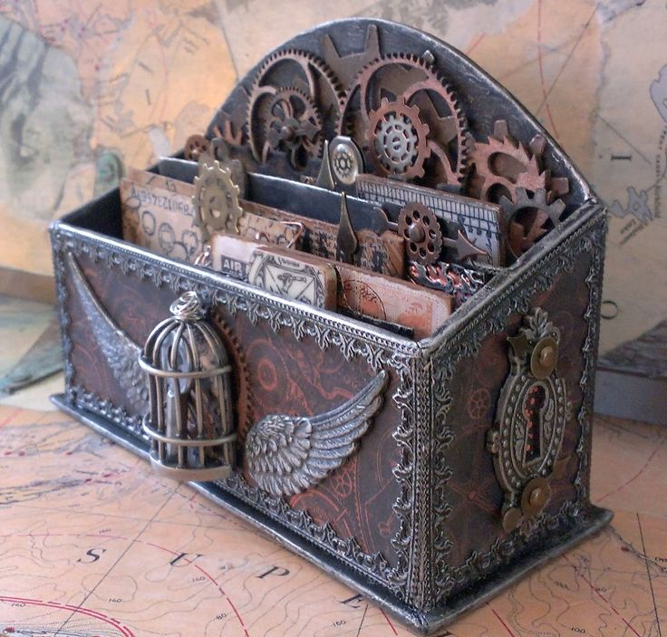 Steampunk Altered Boxes