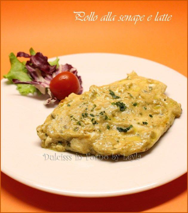 Pollo alla senape e latte: una ricetta molto sfiziosa, velocissima da preparare e poco calorica. Renderà il pollo unico e molto gustoso.