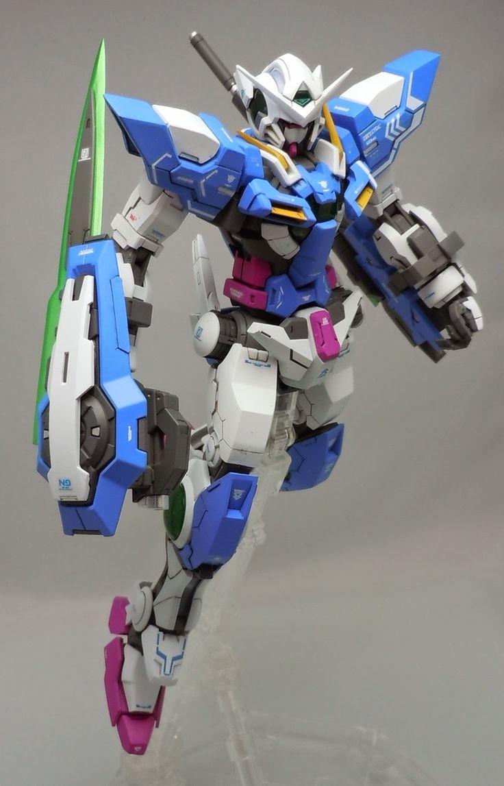 "Custom Build: MG 1/100 Gundam Exia ""Repair III"" conversion - Gundam Kits Collection News and Reviews"