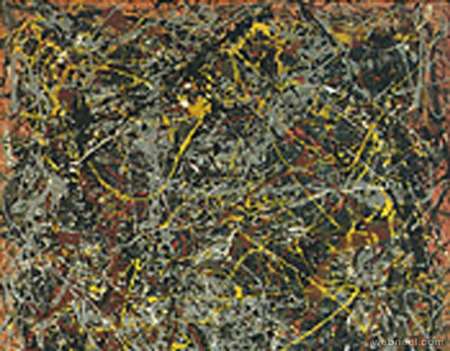 No. 5, 1948, painted by Jackson Pollock Adjusted price: $148.1 Million | Original price: $140 Million Most expensive painting around the wor