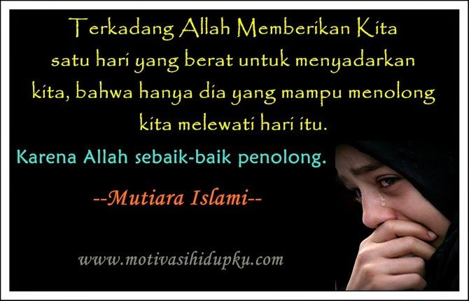 """SHE IS EGIYANTINA: Put Trust in Allah """"The Only helper"""""""