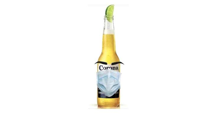 Corona with Mask in 2020