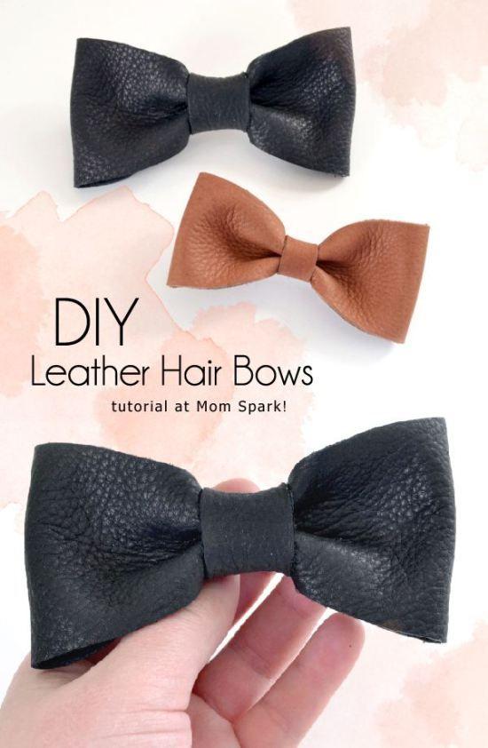 Leather DIY Ideas