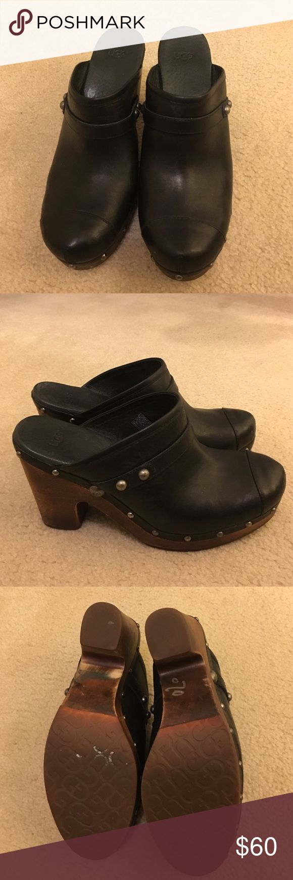 Ugg Clogs Black gently worn Ugg clogs UGG Shoes Mules & Clogs