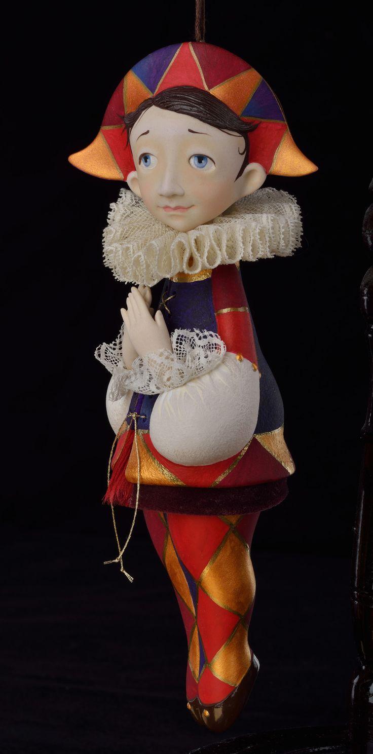 Авторская кукла Тамары Пивнюк / Куклы / Куклы на ёлку I