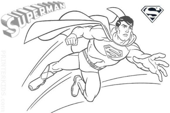 Super Kahraman Boyama Sayfalari Boyama Sayfalari Supermen Ve