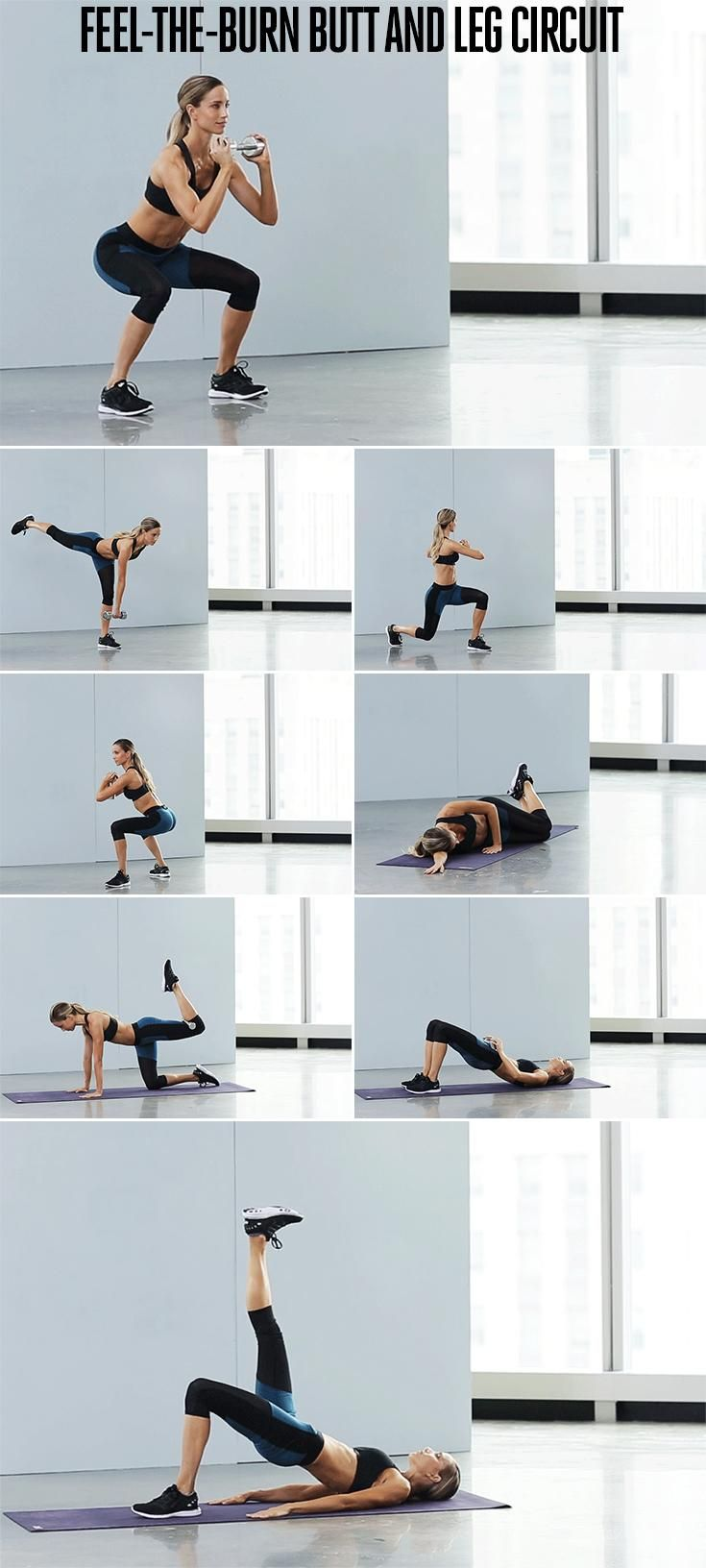Ultimate butt and leg circuit
