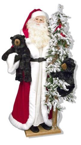 Santa with Bear