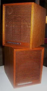 My first speakers. Tandberg.