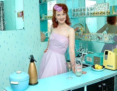26 best images about cocktail party on pinterest retro for Modern housewife